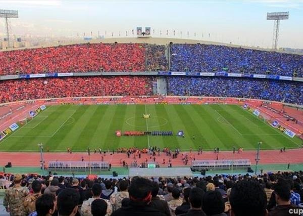 ساعت دربی تهران ۱۴۰۰