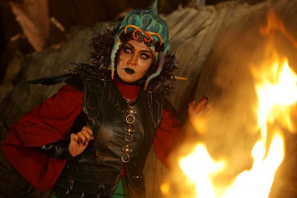 بازیگر نقش اختاپوس در پیشونی سفید 3 + عکس