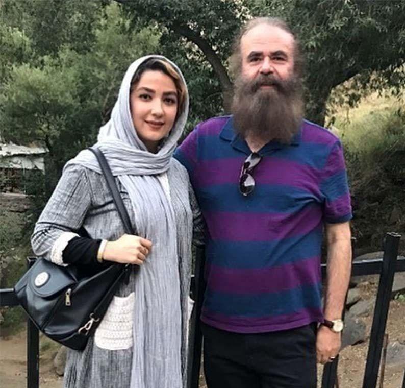 ازدواج خانم بازیگر با مرد 63 ساله +عکس