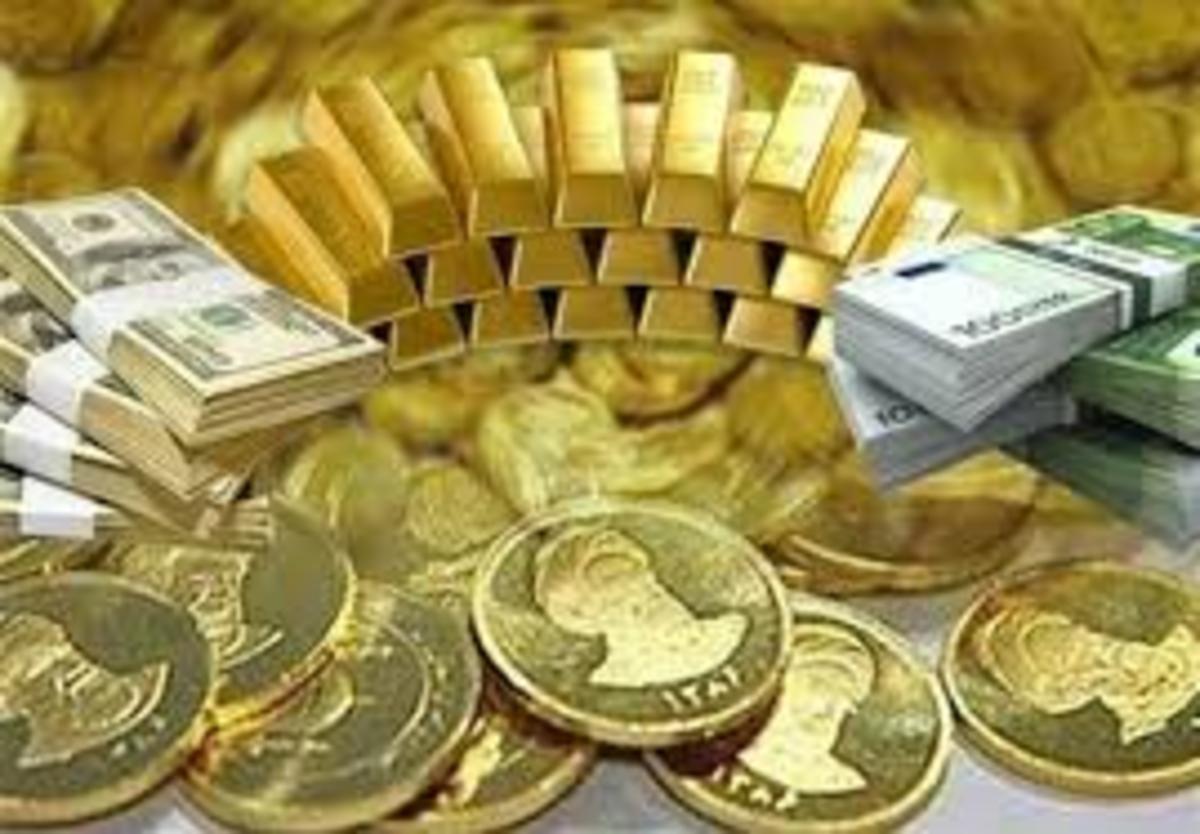 طلای ۱۸ عیار نرخ ارز دلار سکه طلا یورو امروز چهارشنبه ۳۰ مهرماه+ جدول تغییرات