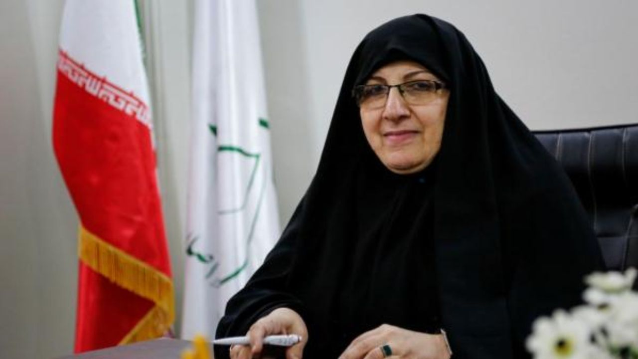 زهرا شجاعی کاندیدای انتخابات 1400