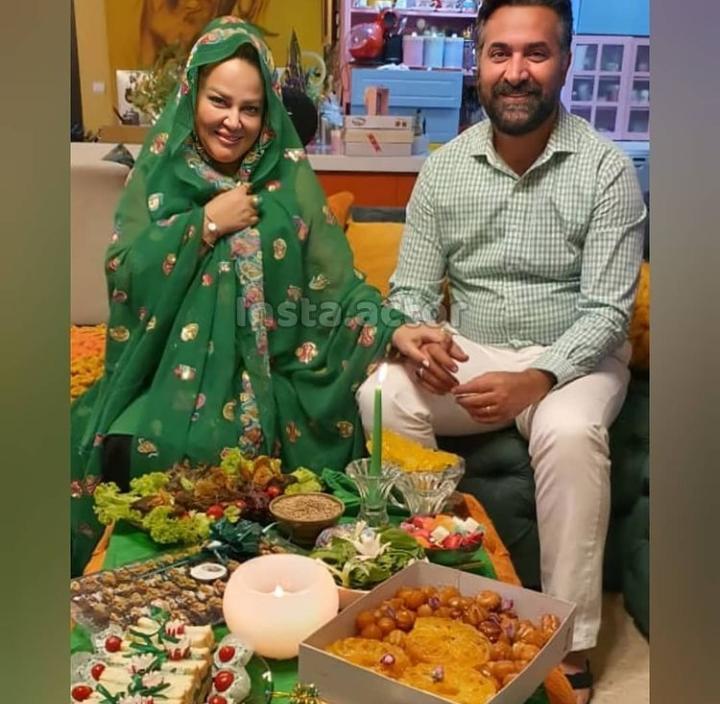 عکس| روزهداری بهاره رهنما و همسرش